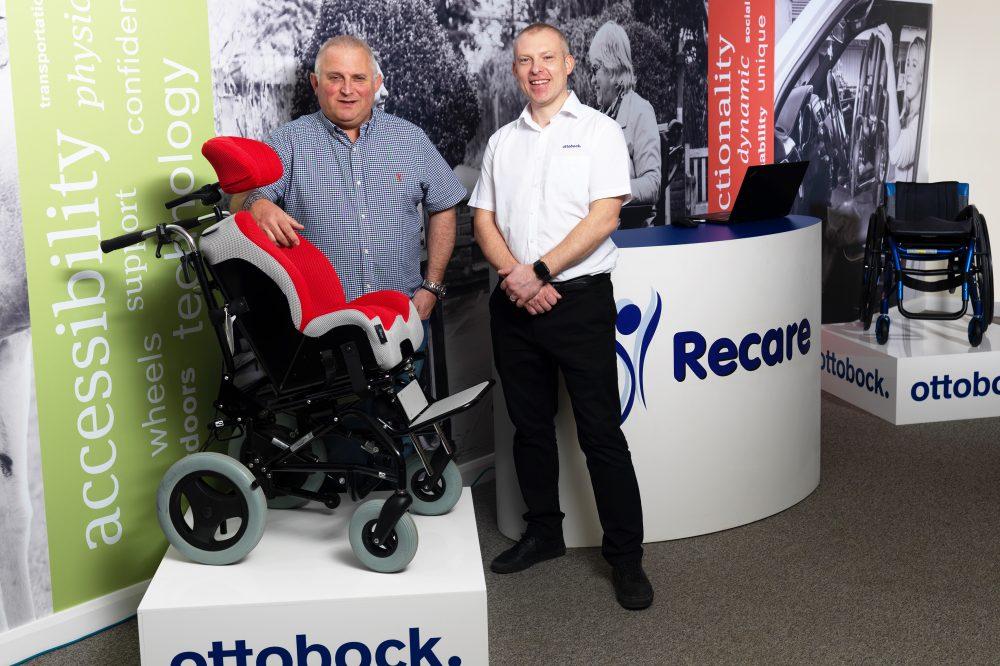Ottobock wheelchair exhibition stand