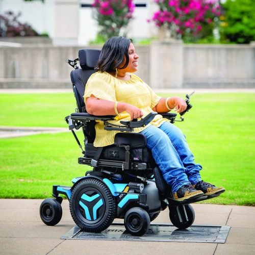 Permobil powered wheelchairs