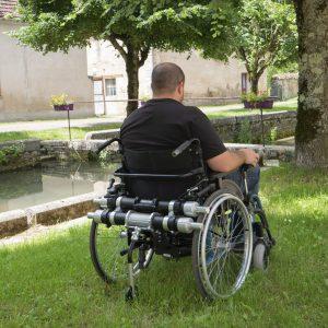 Bariatric Wheelchair Power Add-On