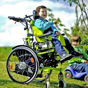 Tilt-in-Space Wheelchair