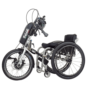 tribike_E_Plus_Triride-Wheelchair-add-on-hybrid-Handbike-1